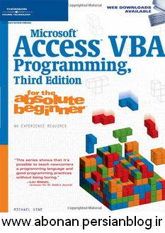 Microsoft Access VBA Programming for the Absolute Beginne